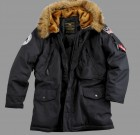 Kurtka N3B Polar Jacket Alpha Industries Black Czarna
