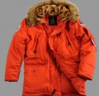 Kurtka N3B Polar Jacket Alpha Industries Czerwona