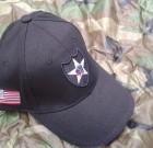 Czapka Baseball 2 Infantry Division czarna Fostex
