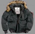 Kurtka Zimowa N2B Mountain Jacket Alpha Industries Black Czarna