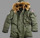 Kurtka N3B Polar Jacket Alpha Industries Dark Green Ciemna Zielona