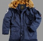 Kurtka N3B Polar Jacket Alpha Industries Rep Blue Niebieska