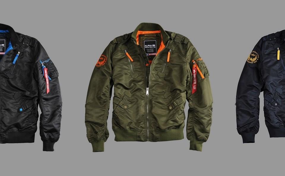 Nowe kurtki Falcon II Alpha Industries