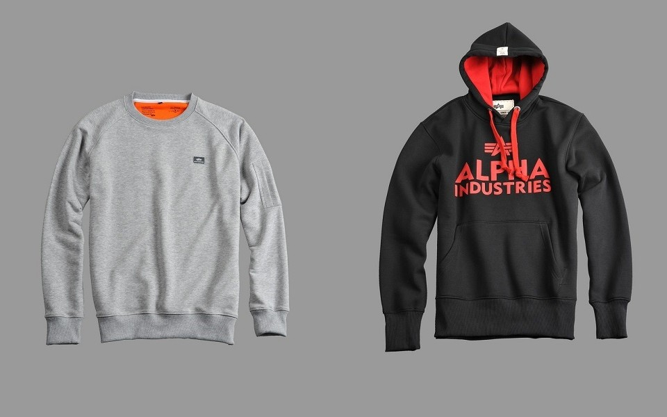 Bluza Alpha Industries Foam Hoody XFit