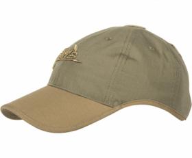 Czapka Baseball Helikon Logo Cap Adaptive Green Coyote