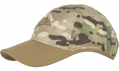 Czapka Baseball Helikon Logo Cap Camogrom Coyote