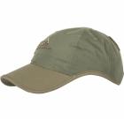 Czapka Baseball Helikon Logo Cap Olive Green / Adaptive Green