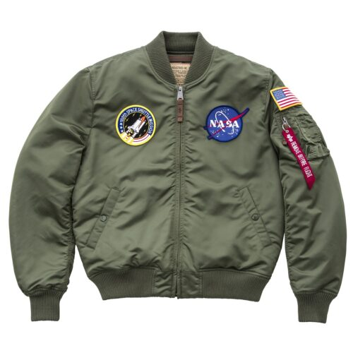 Alpha Industries Nasa MA-1 VF Oliwkowa