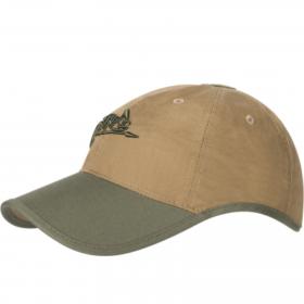 Czapka Helikon Logo Coyote / Olive Green