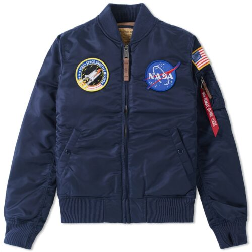 Kurtka Nasa Alpha Industries MA-1 VF Rep Blue