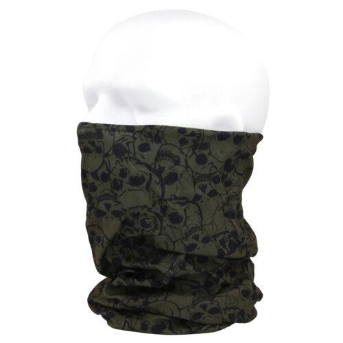 Chusta Komin Oliwkowa Skull Multi Wrap Fostex