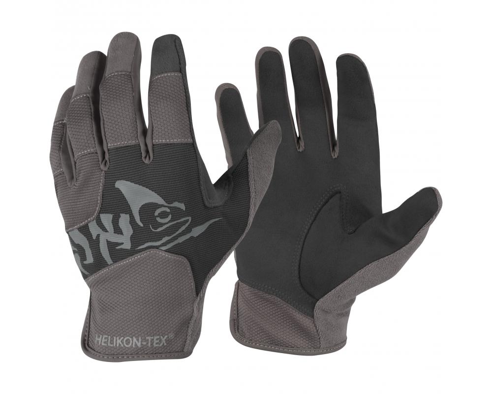 Rękawiczki Helikon All Round Fit Tactical Light Czarne / Shadow Grey