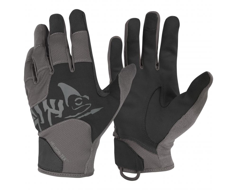Rękawiczki Helikon All Round Tactical Light Czarne / Shadow Grey