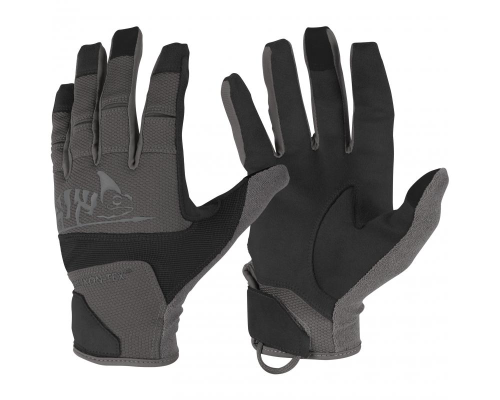 Rękawiczki Helikon Range Tactical Hard Czarne / Shadow Grey
