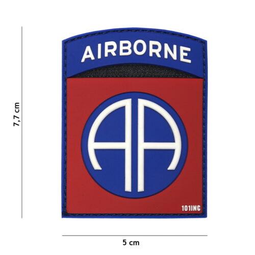 Naszywka 3D PVC Airborne 82ND
