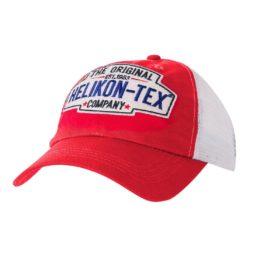 Czapka Bejsbolówka Helikon Trucker Cap Czerwony/Biały