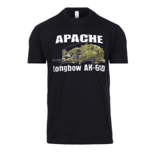 Koszulka z nadrukiem Czarna Apache Fostex