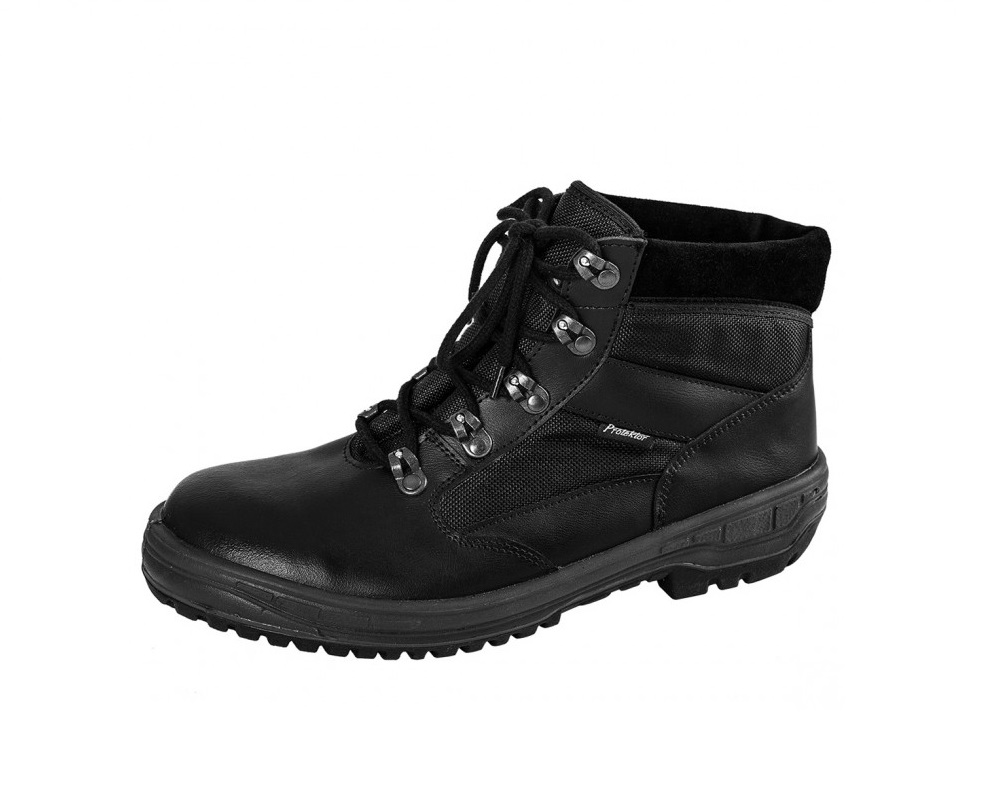 Buty wojskowe Protektor Alfa Plus Czarne
