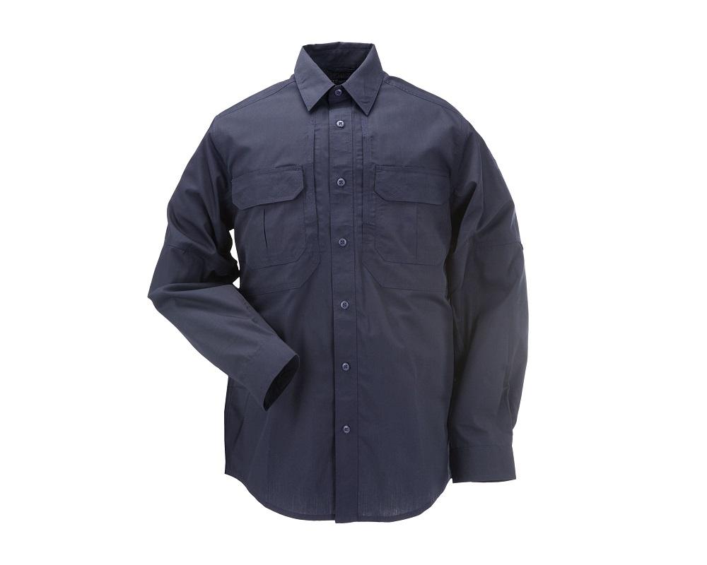 bb564791222037 Koszula Taktyczna Dark Navy 5.11 Taclite Pro Shirt Długi Rękaw