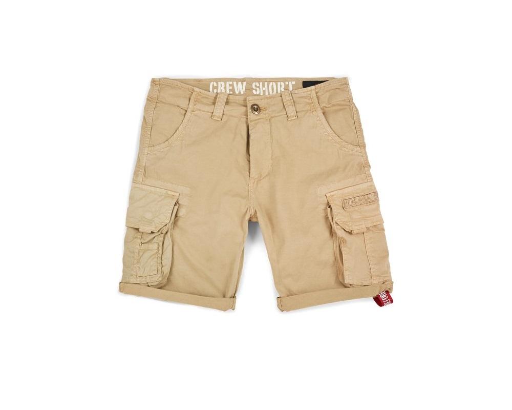 pantaloni alpha industries crew short sand