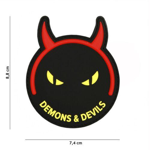 Naszywka PVC Demons And Devils