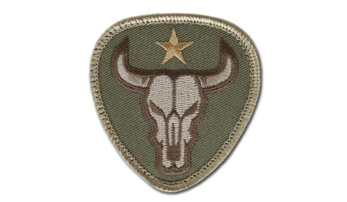 Naszywka-Morale-Patch-Bull-Skull-Multicam