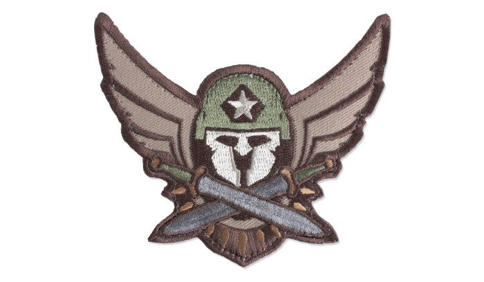 Naszywka-Morale-Patch-Modern-Spartan-Arid