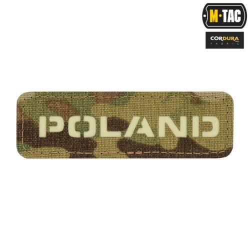 Naszywka Poland Multicam GID 25х80 Laser Cut M-tac